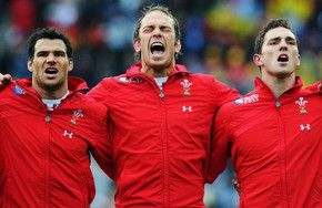 3 of my favourite players... Mike Phillips, Alun Wyn Jones, George North..awesome