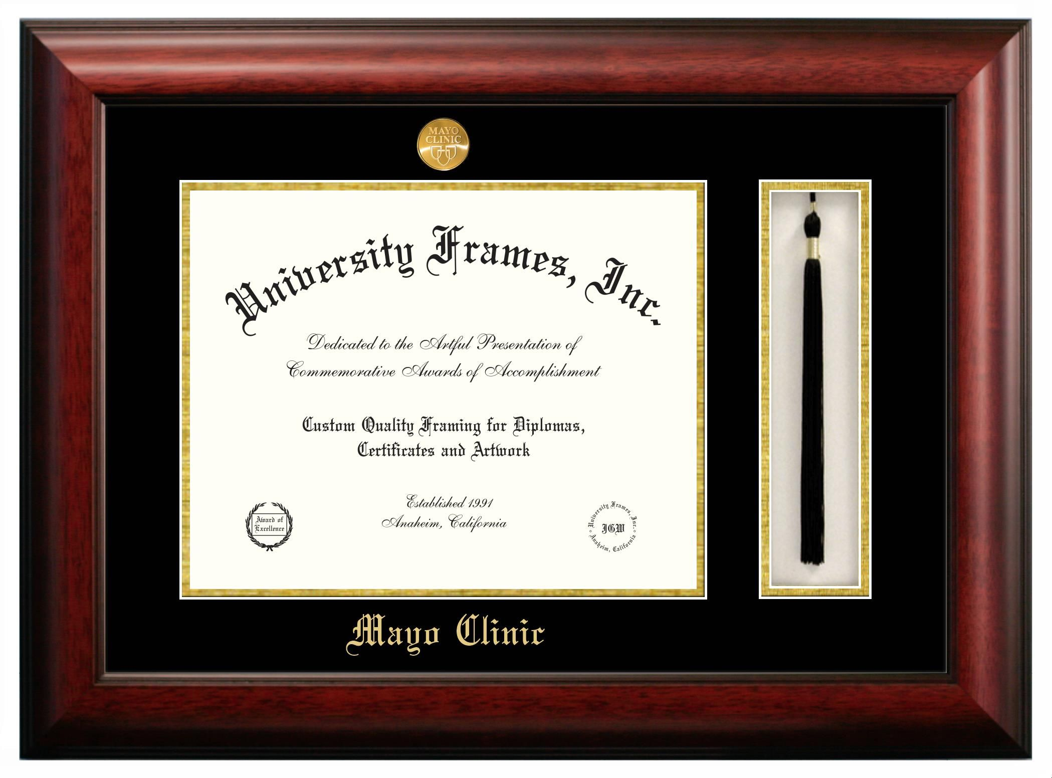 Price 175 00 Mayo Clinic Diploma Frame With Tassel Box Diploma Frame Graduation Frame Frame