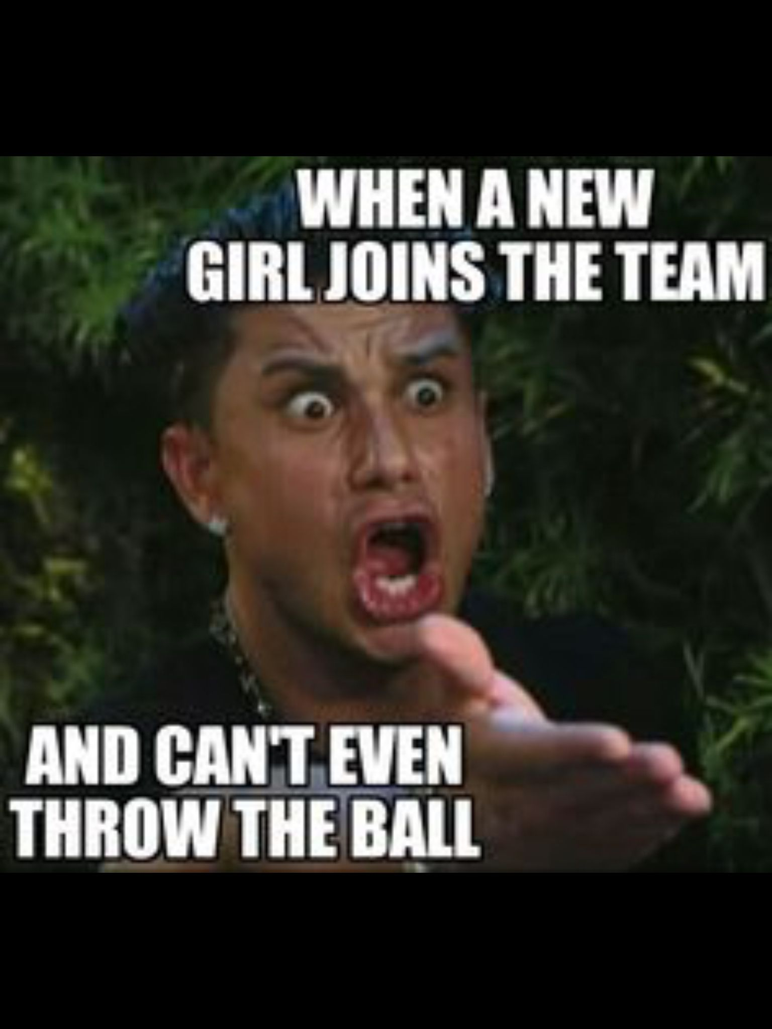 When a new girl joins the team Teacher humor, Teacher