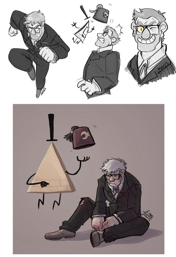 Gravity Falls- Stanley and Bill by MadJesters1 on DeviantArt