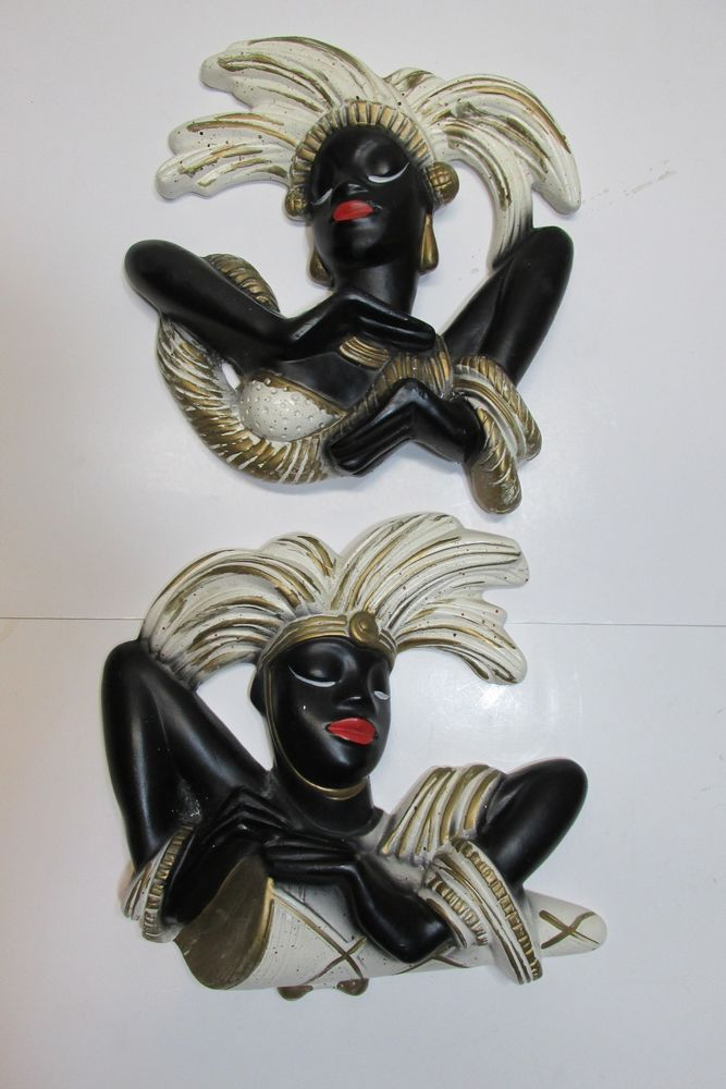 GRAMA had these AND the matching lamps!!!~Vintage 1950's ...