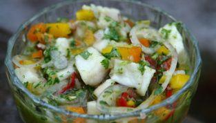 Fish ceviche {Ramon's ceviche de pescado}