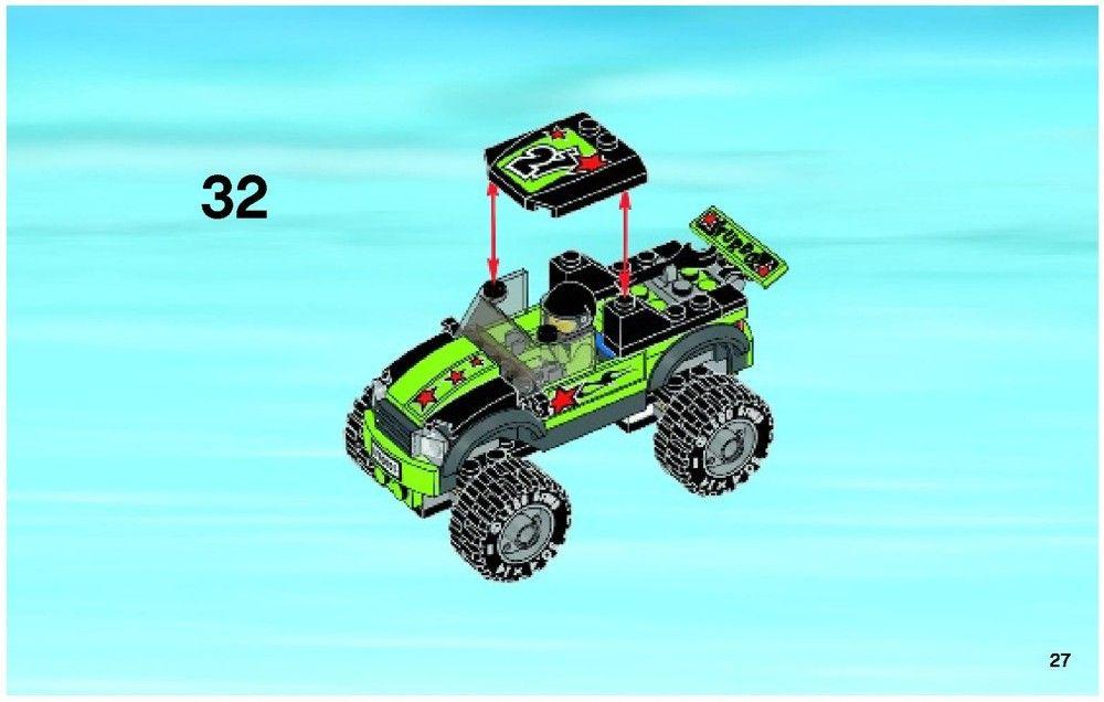 City Monster Truck Lego 60055 3 My Boys 3 Pinterest
