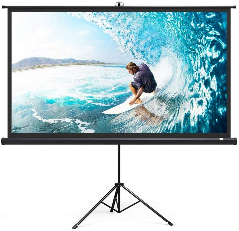 10 Best Portable Projector Screens In 2020 Buying Guide Bestlist In 2020 Outdoor Movie Screen Outdoor Projection Screen Inflatable Movie Screen