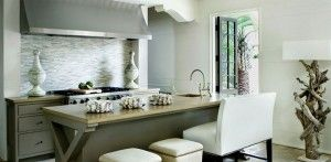 kitchen in a RB home designed by Melanie Turner