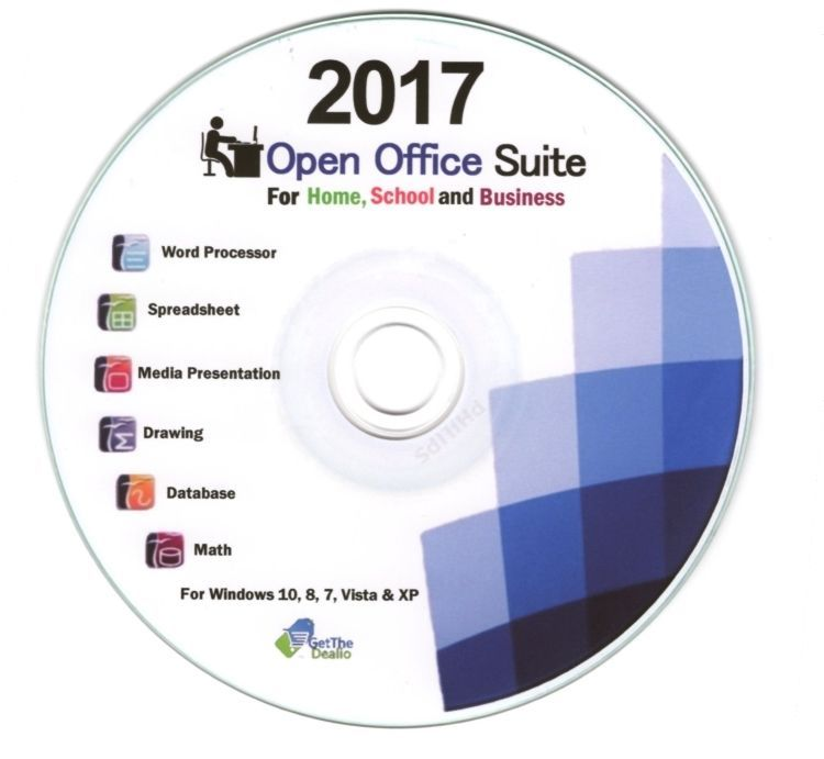 $999 - Latest Open Office Professional 2018 Windows Xp,Vista, 7,8 - free spreadsheet application for windows 10