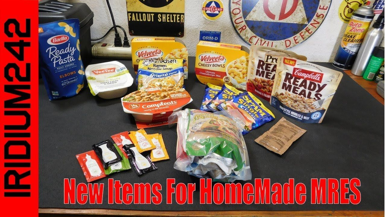 New items for homemade mres youtube in 2020 homemade