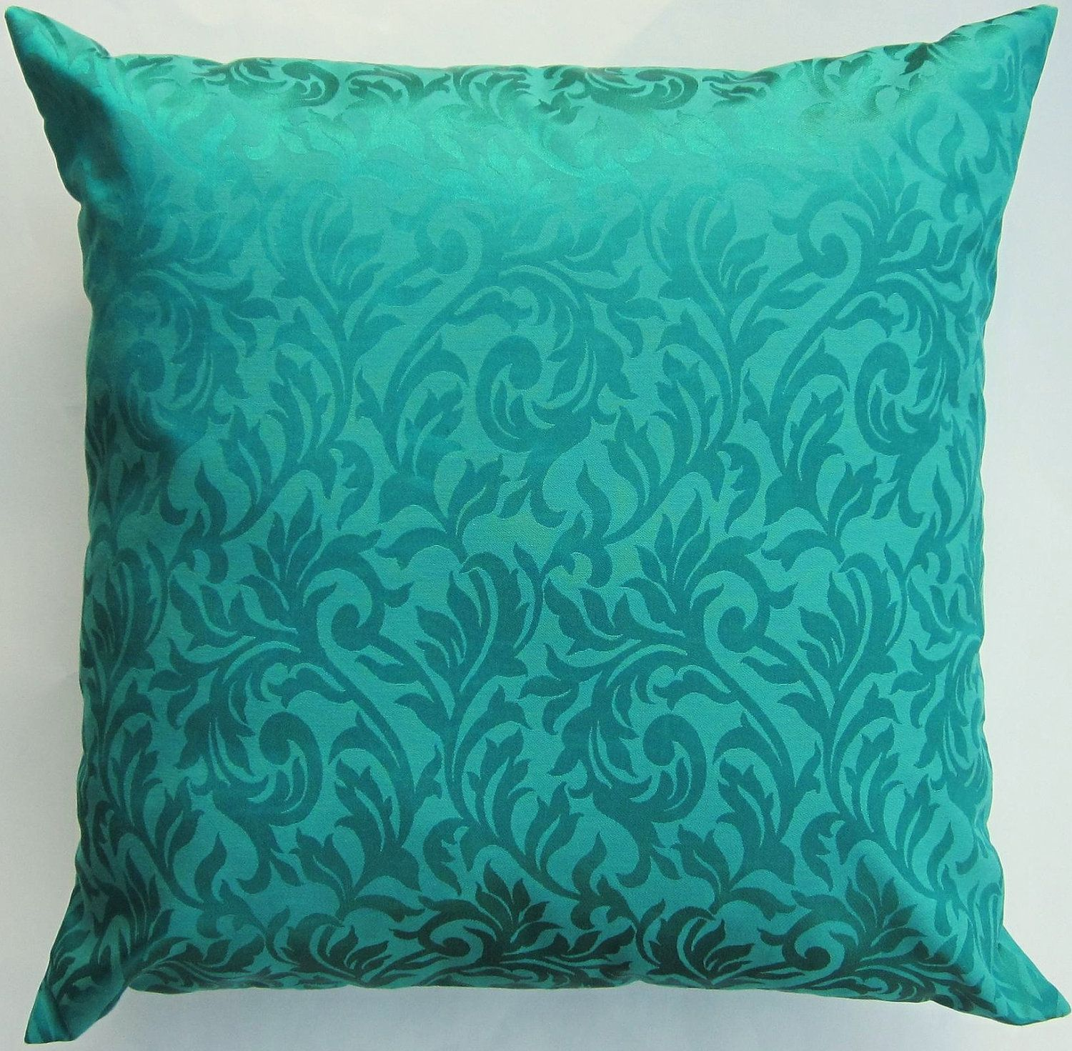 solid accents accent pillow outdoor products throw pillows aqua sam home green