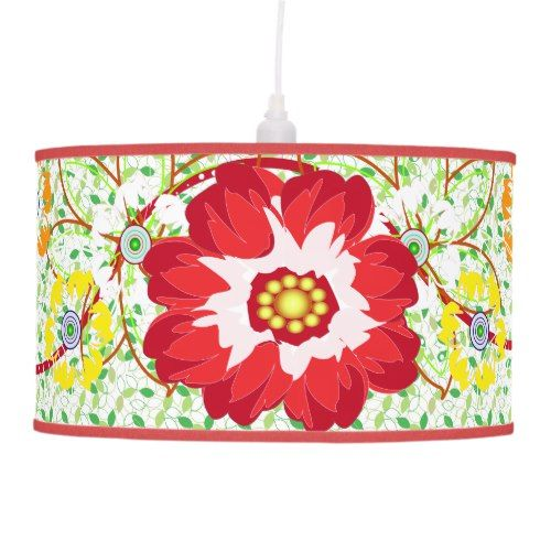 Tropical Cabana Ceiling Lamp