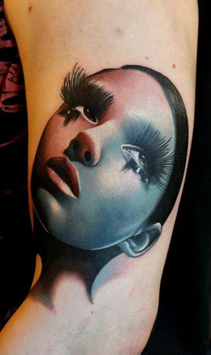 German Model Mara Inkperial Body Covered with Tattoos – Gudsol  German Tattoos For Girls