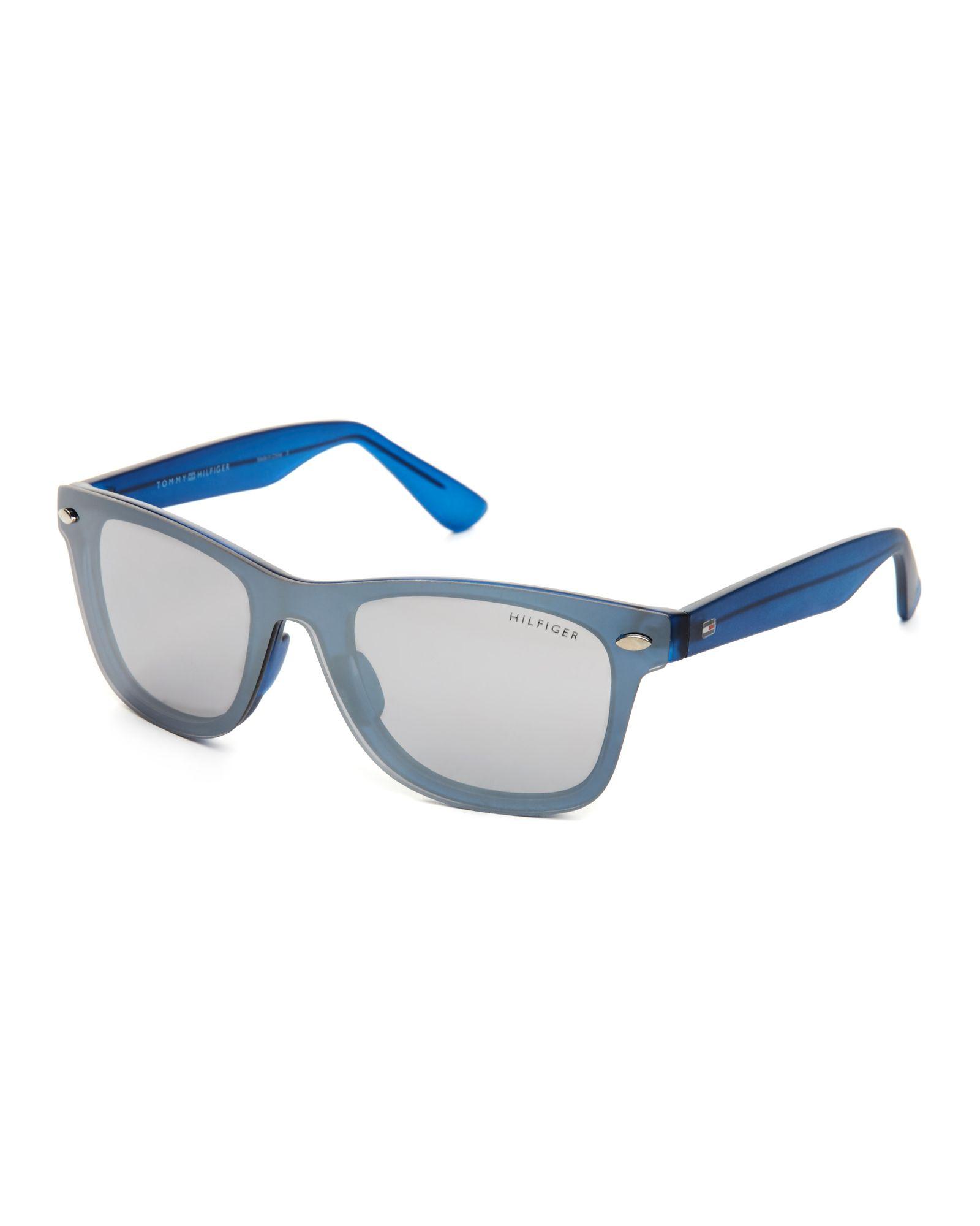 634b43d57e Tommy Hilfiger Blue Mel Wayfarer Sunglasses