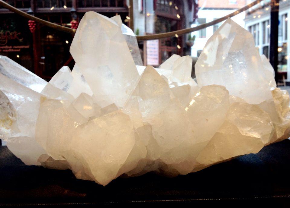 Bergkristal, Brazilië.