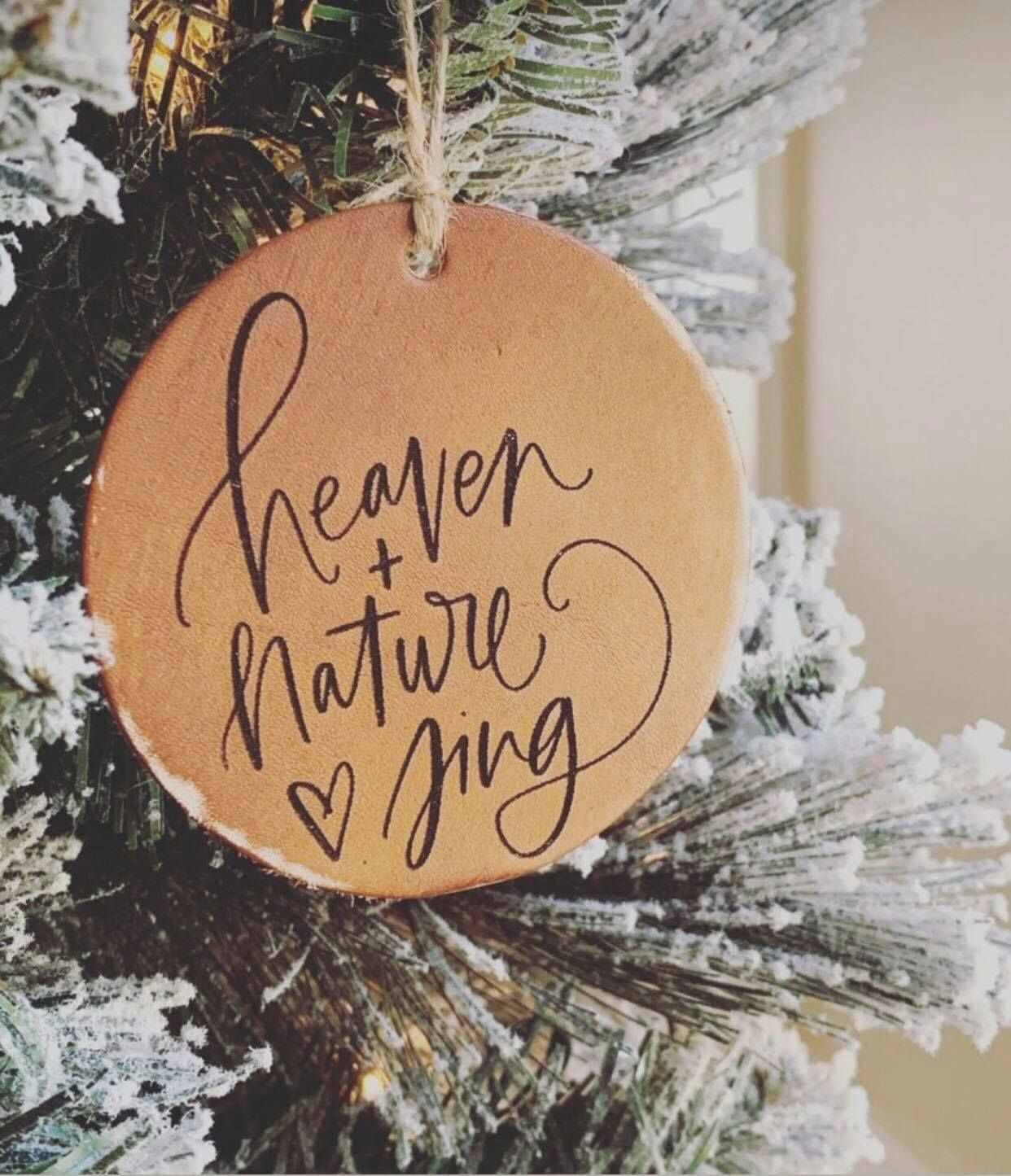 Heaven Nature Sing In 2020 Christmas Love Christmas Christmas Ornaments