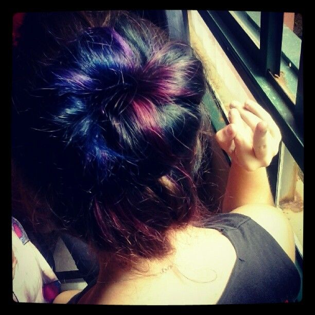 Colorfull hair :3