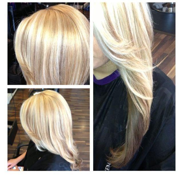 Platinum Blonde With Honey Lowlights Google Search