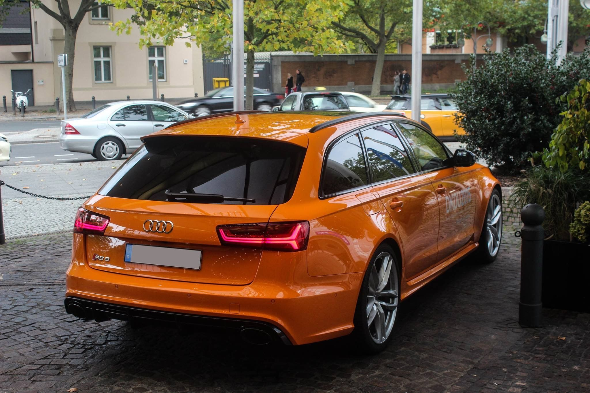 Interesting Color For The Audi Rs6 Avant Audi Rs6 Audi Muscle