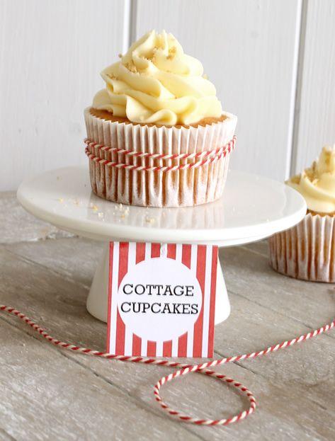 Cottage Cupcakes | Cupcakerecepten.nl
