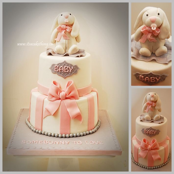 SomeBUNNY to LOVE! - I loved making this Baby Shower Cake ...