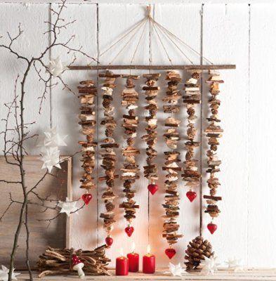 weihnachts deko natur ideen zum selbermachen basteln pinterest christmas christmas. Black Bedroom Furniture Sets. Home Design Ideas