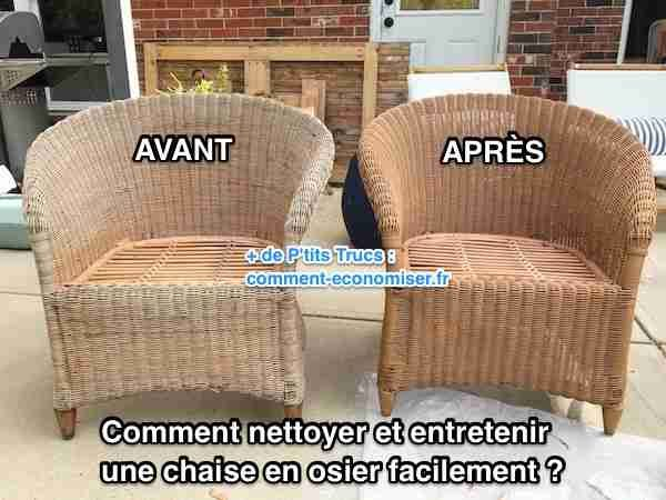 Comment Nettoyer et Entretenir une Chaise en Osier ...