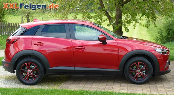 mazda cx 3 mit den 16 zoll dbv andorra alufelgen mazda. Black Bedroom Furniture Sets. Home Design Ideas