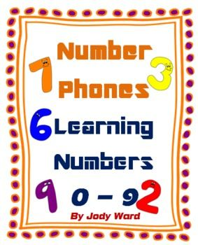 Number Game Number Phones A Fun Way To Learn Numbers Learning Numbers Number Games Learning