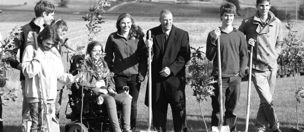 Granville Intermediate School opens up Land Lab for learning