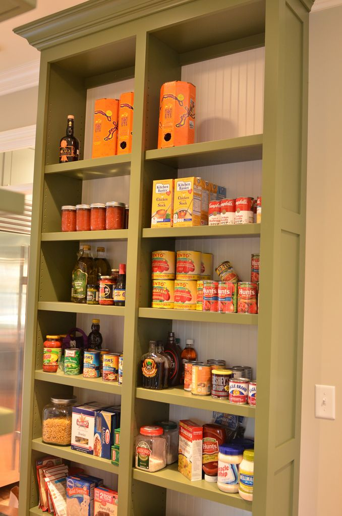 Having An Open Pantry Like This With Not So Deep Shelves Seems A Great Way To Avoid Forgetting What You Have In Your Kitchen