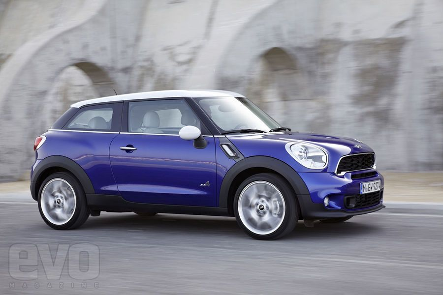 Mini Paceman unveiled