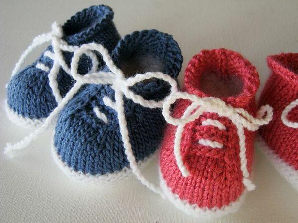 0d46d8441ba6 Babyschuhe häkeln - 100 wunderschöne Ideen! - Archzine.net