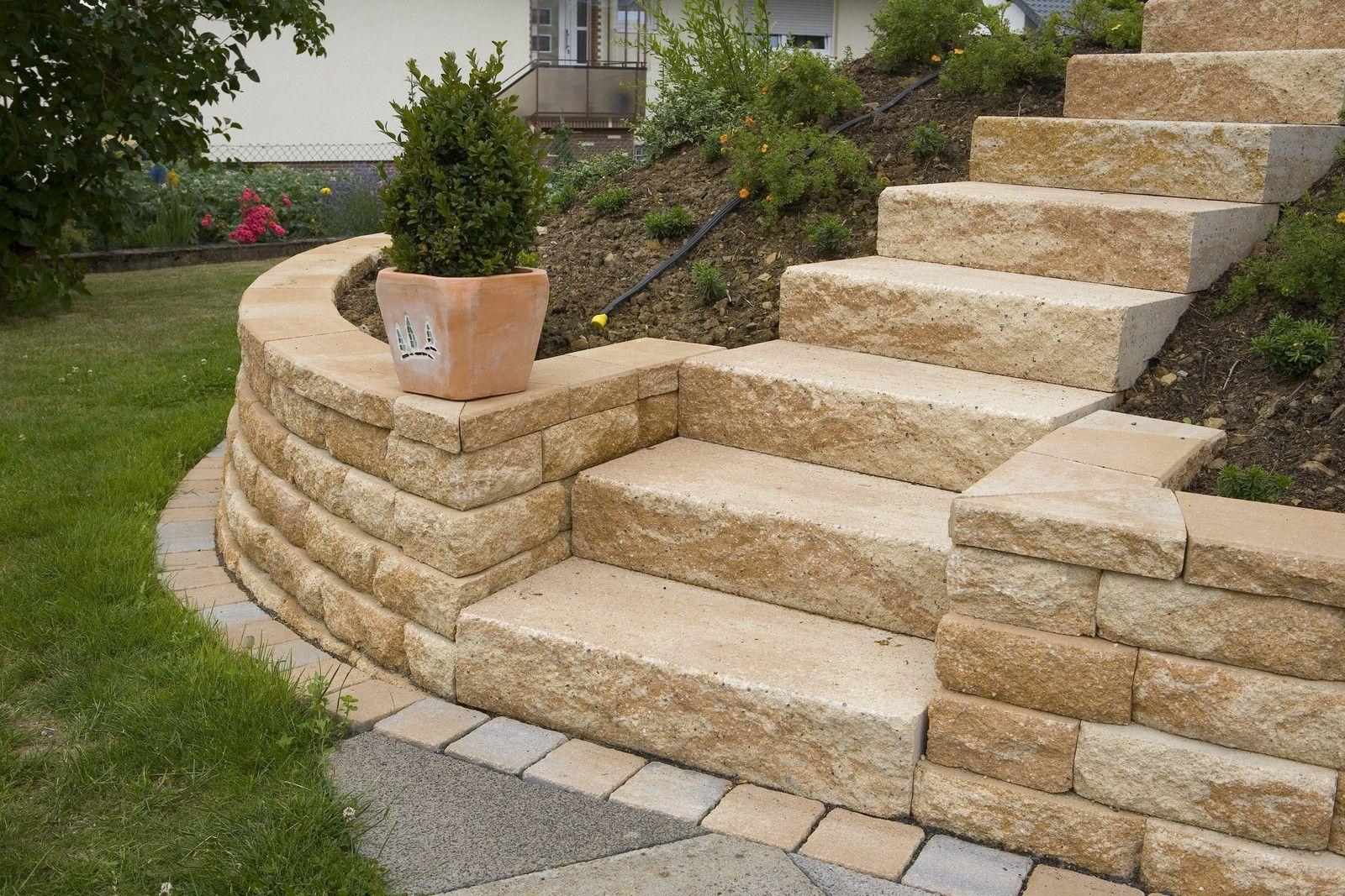 Blockstufe Rinn Preis Google Suche Natursteine Garten Krautergarten Design Natursteine