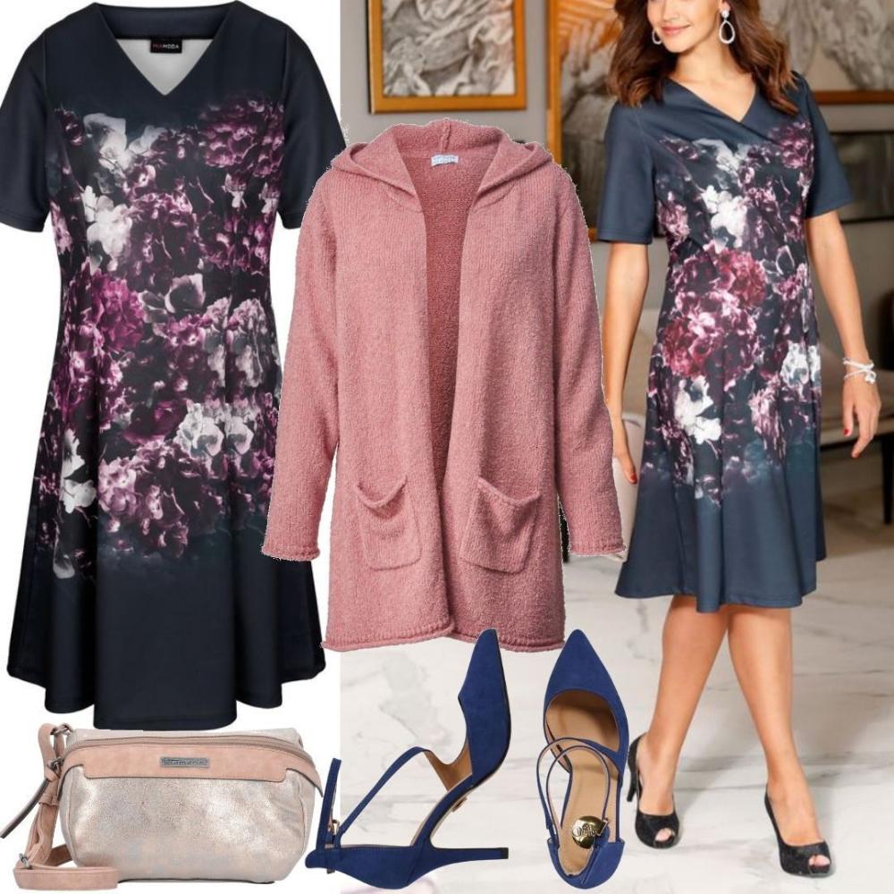 Große Größen Kleid MIAMODA für Damen zum Nachshoppen auf