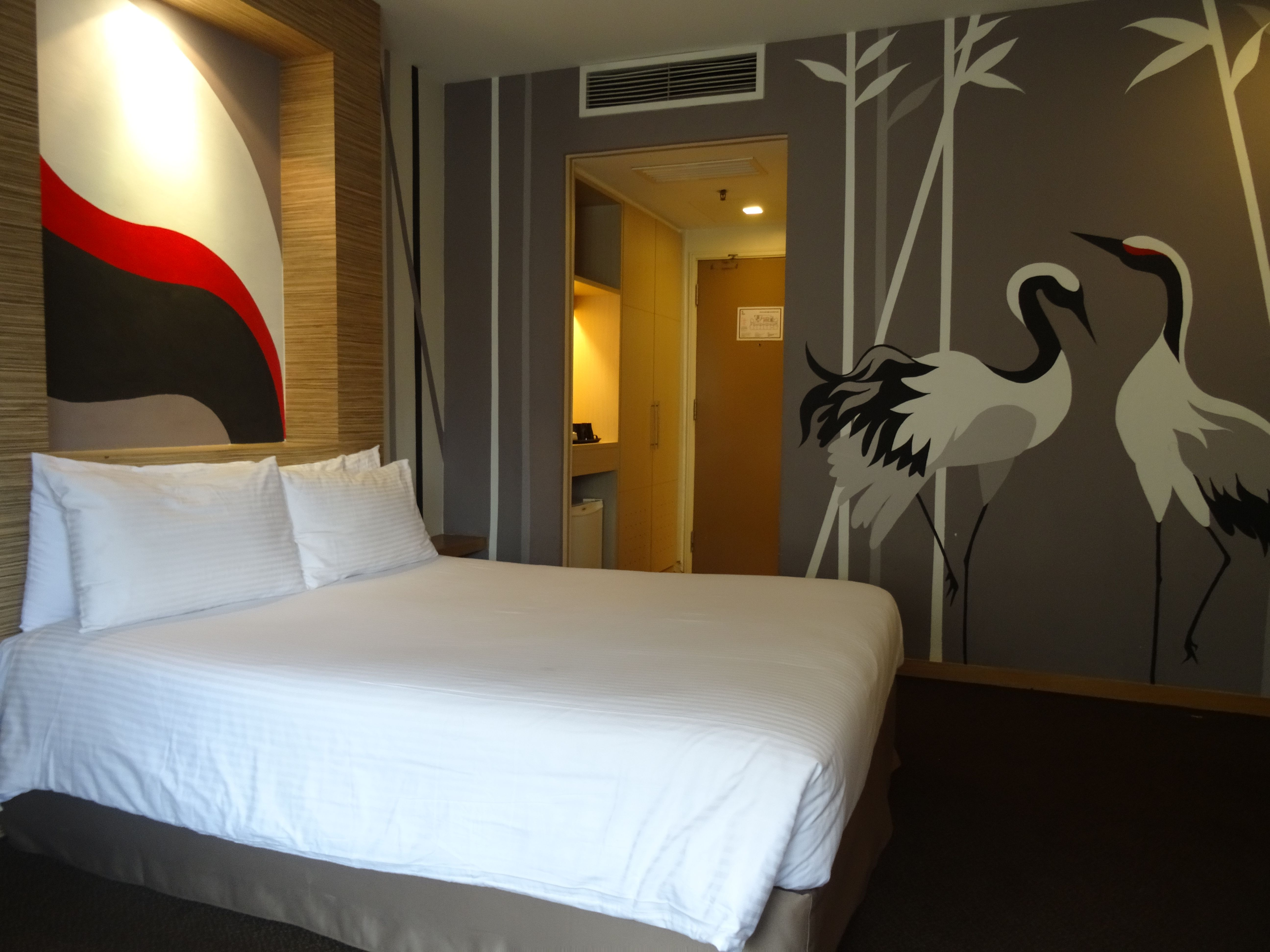 The Deluxe Theme Room at The 5 Elements Hotel in Chinatown