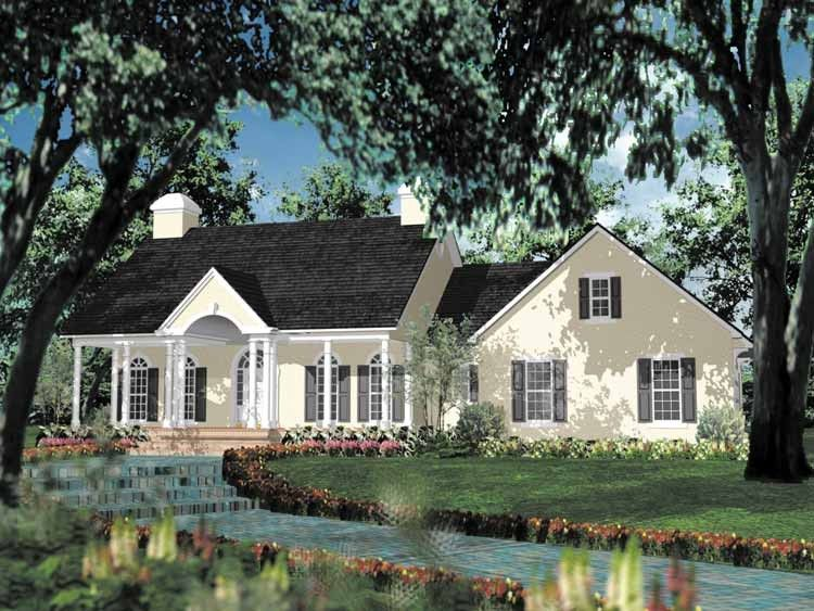 Eplans Adam Federal House Plan Impressive Entry 2046 Square Feet And 3 Bedrooms From Eplans Hou Colonial House Plans Colonial House Country House Plans