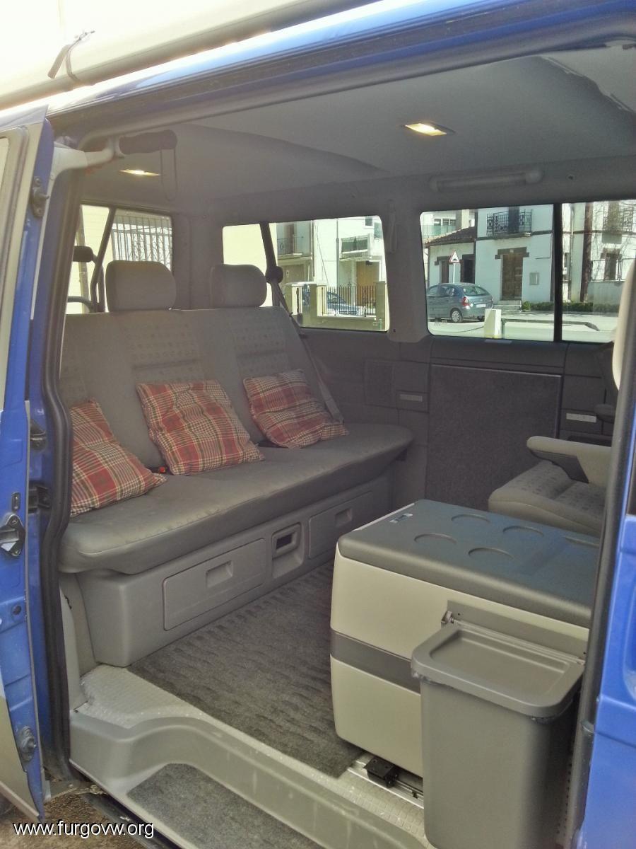 presentaci n volkswagen t4 multivan camping. Black Bedroom Furniture Sets. Home Design Ideas
