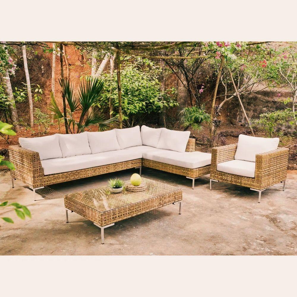 7 Salons De Jardin Sublimes Pour Cet Ete Table Basse Jardin Canape Angle Et Agrement De Jardin