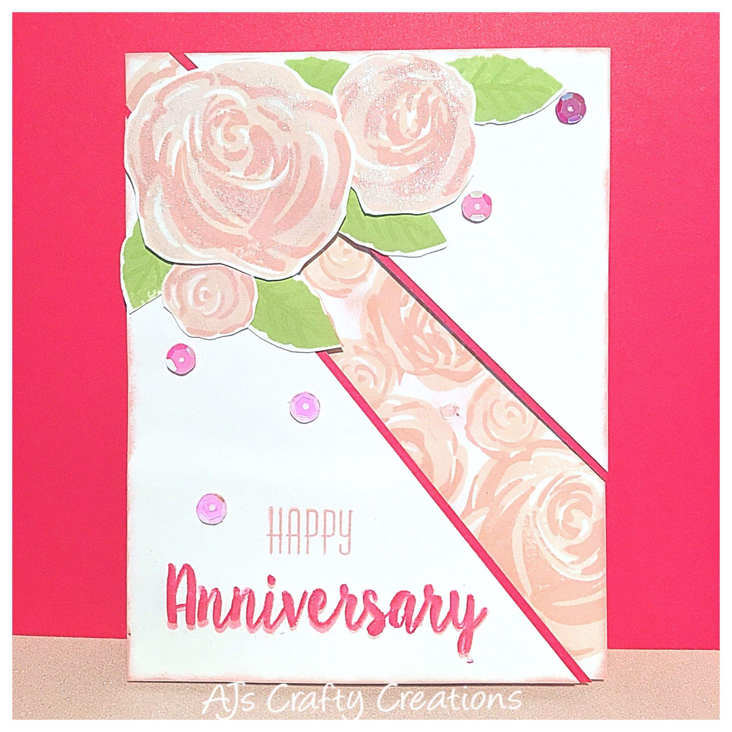 ctmh beautiful you anniversary card  anniversary cards
