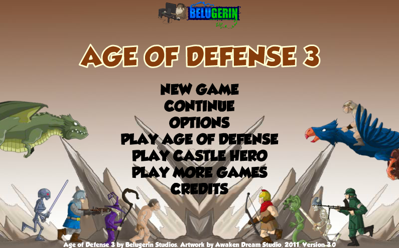 Age of Defense 3 Unblocked Play At School Scholle