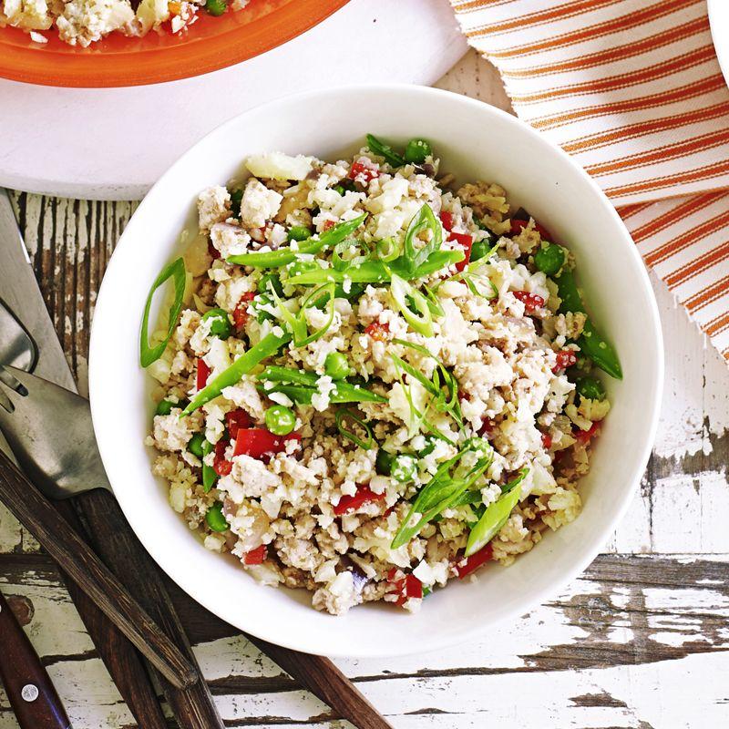 Turkey cauliflower 'fried rice' | Healthy Recipe | WW ...
