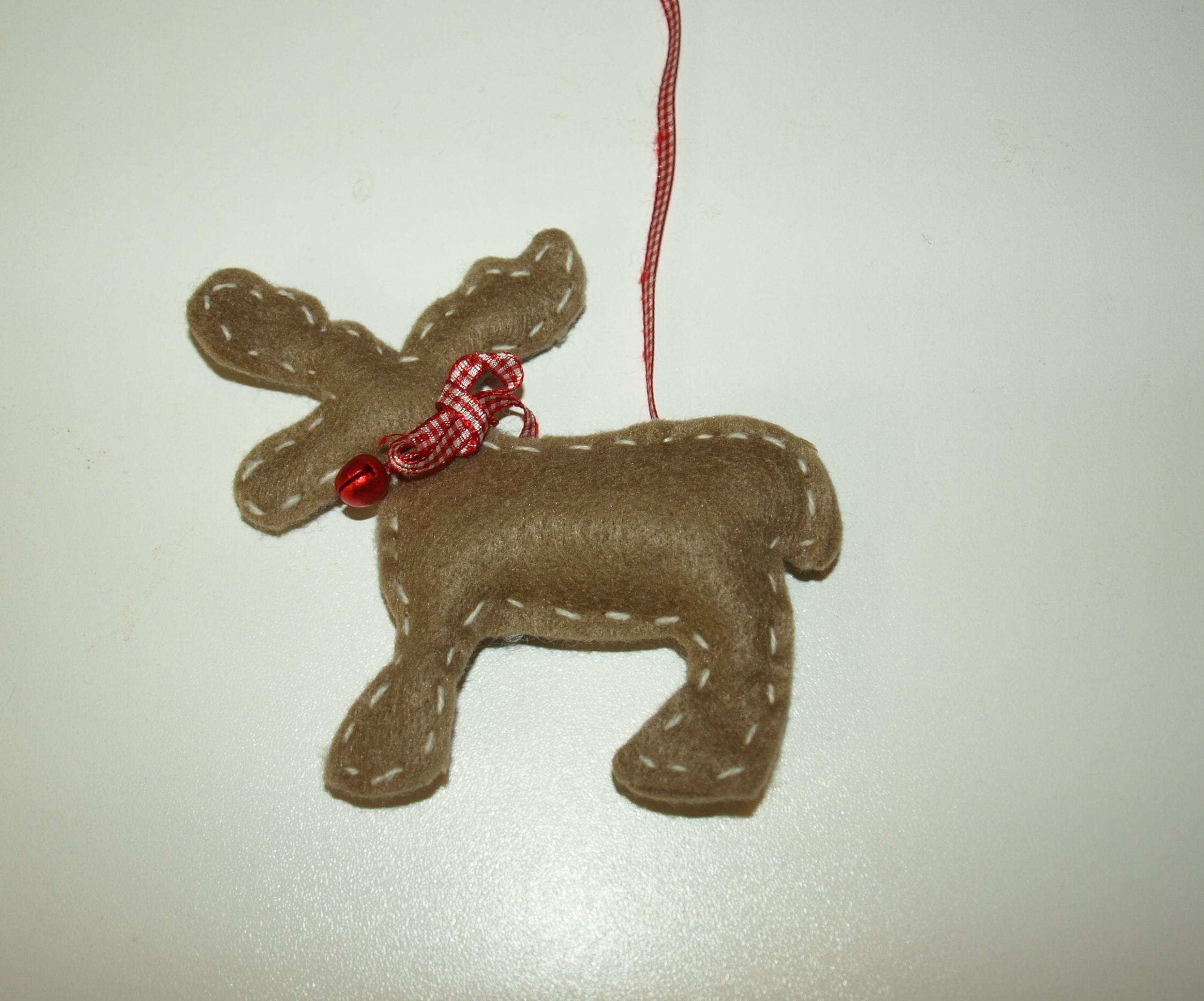 Vilten eland (kerstdecoratie)    €1,75      3 voor €5,00