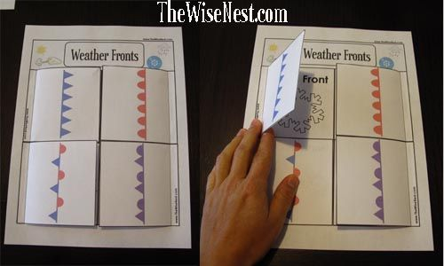 Printables Weather Fronts Worksheet 1000 images about weather fronts on pinterest models warm and kid