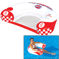 Relax with the all new 1 Person Noodler Lounge from SPORTSSTUFF. Cool off, kick back and enjoy the comfort mesh seating while utilizing the built in cup holder to holster your favorite beverage. You can also flip the Noodler over and have a custom belly board to splash up some fun with! If you want relaxation at the pool, beach, or lake, then the Sportsstuff Noodler Lounge is your ticket to serenity.