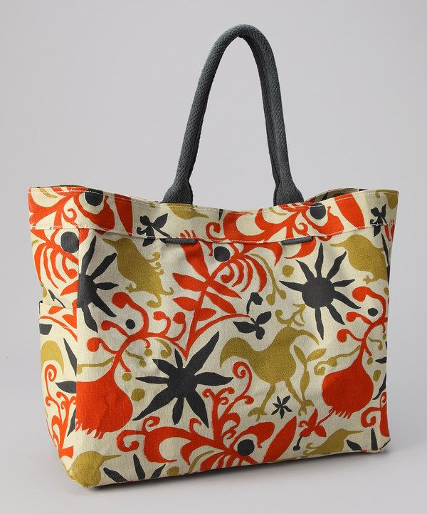 take a look at this fleur tomato carryall tote on zulily. Black Bedroom Furniture Sets. Home Design Ideas