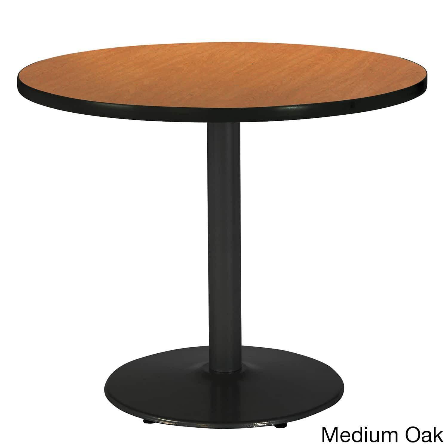 Inch Round Pedestal Table With Round Black Base Products - 42 inch round office table