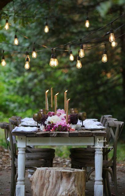 5 easy tips for setting a perfect summer table - French Country Cottage
