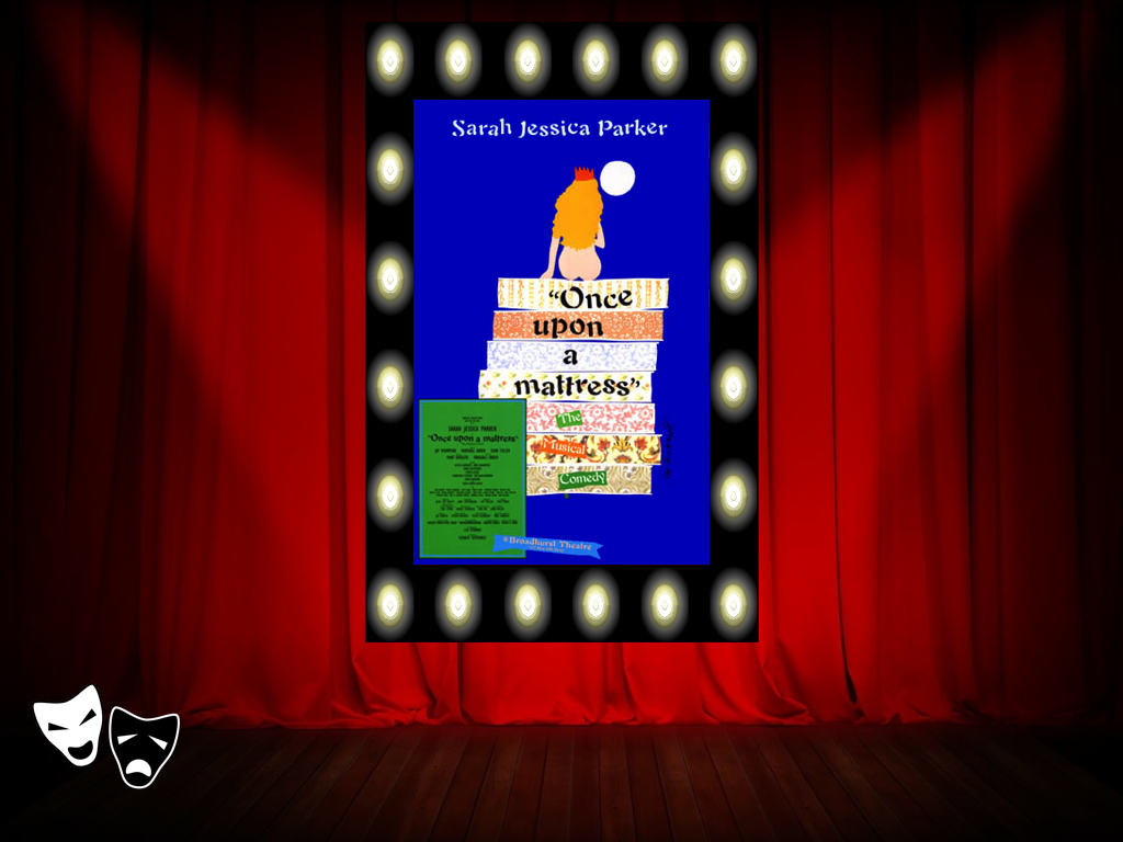 """""""Once Upon a Mattress"""" Broadway poster http://www.amazon."""