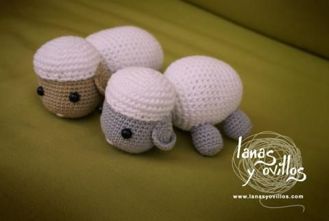 Free Amigurumi Lamb : Free pattern amigurumi sheep sheep lamb lamb animalitos
