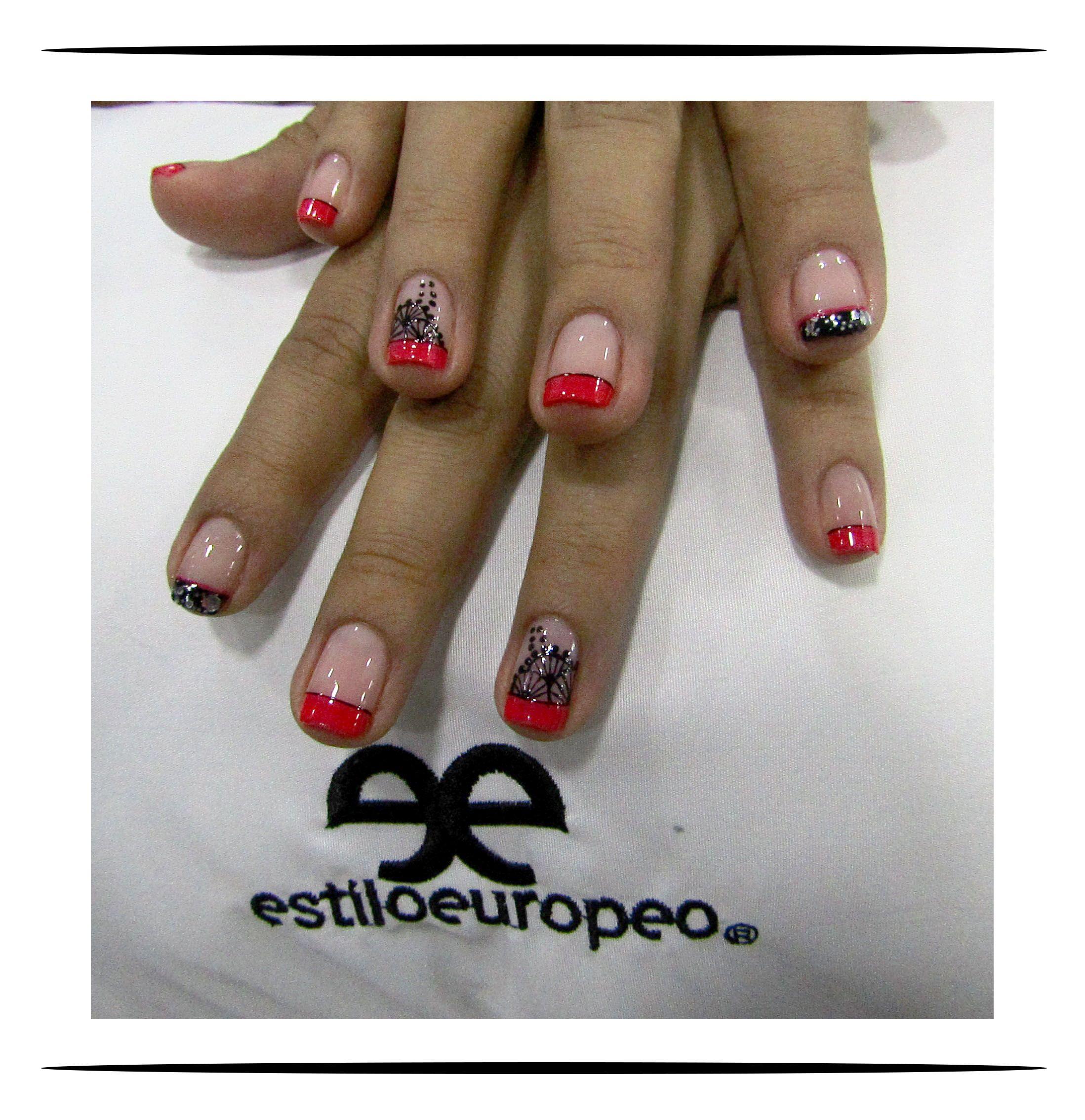 Un maquillaje de uñas con Estilo Europeo! Un excelente trabajo ...