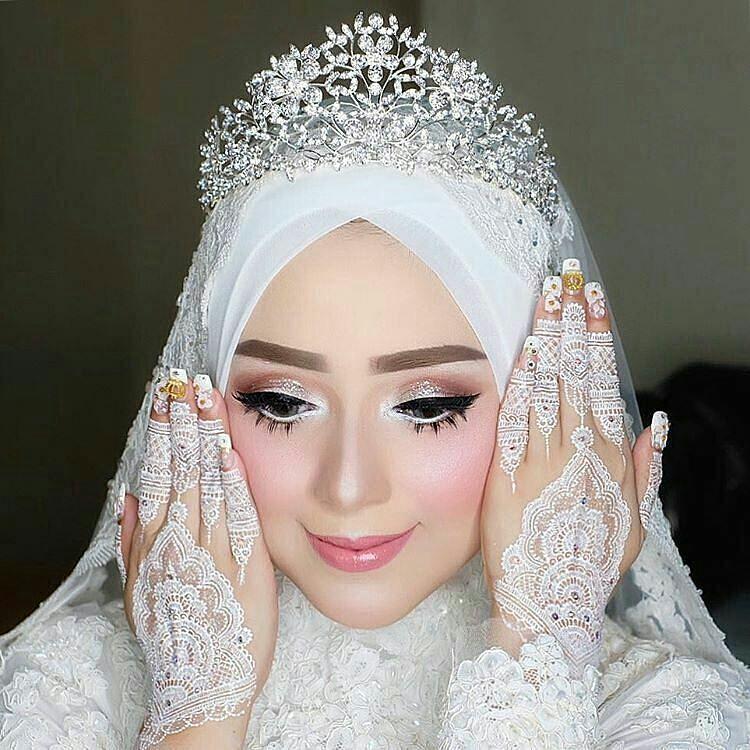 Wedding Nikah Simple Backdrop Decoration Muslim: Pin Oleh Azu Shehriaz Di Wedding Dress In Muslim