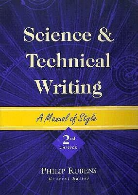 Science And Technical Writing Technical Writing Technical Writer Writing